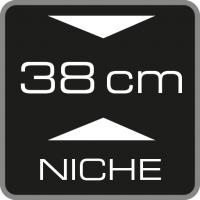 38 cm Nischenhöhe