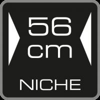56 cm Nischenbreite